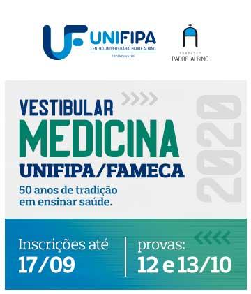 UNIFIPA/FAMECA - Vestibular Medicina 2020