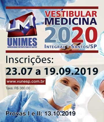 Unimes - Medicina 2020