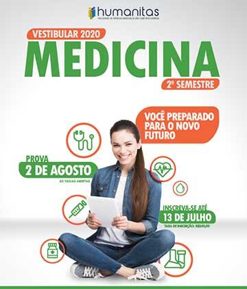 Humanitas - Medicina - 2º Semestre de 2020