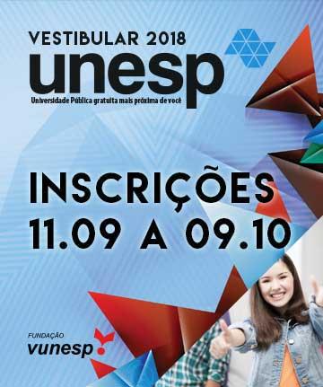 UNESP - VESTIBULAR 2018