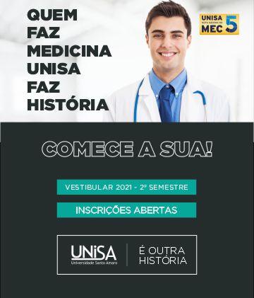Vestibular Medicina - 2º Semestre 2021