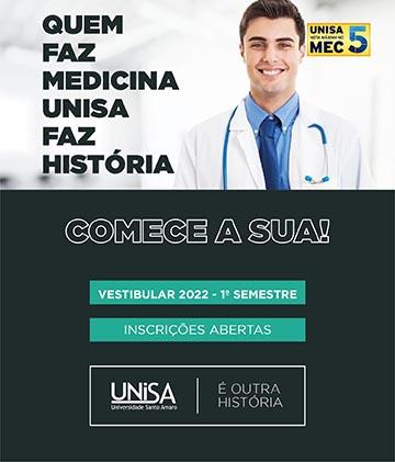 UNISA - Processo Seletivo Vestibular de Medicina 2022