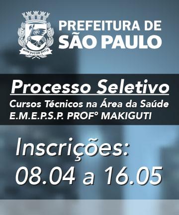 Escola Municipal de Educação Profissional e Saúde Pública PROF. MAKIGUTI - Fundação Paulistana