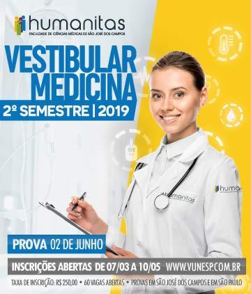 Humanitas - Medicina - 2º Semestre de 2019